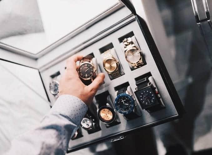 cutie pentru ceasuri barbati la reducere