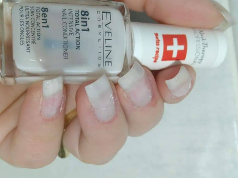 nail care eveline 8in1