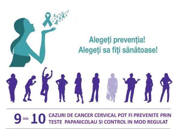 """Evenimentul """"Oprește cancerul de col uterin"""""""