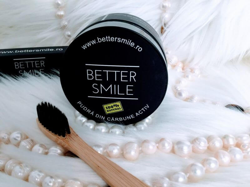 Pudra din cărbune activ BetterSmile review