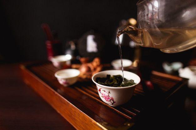 traditional chinese tea ceremonia ceaiului
