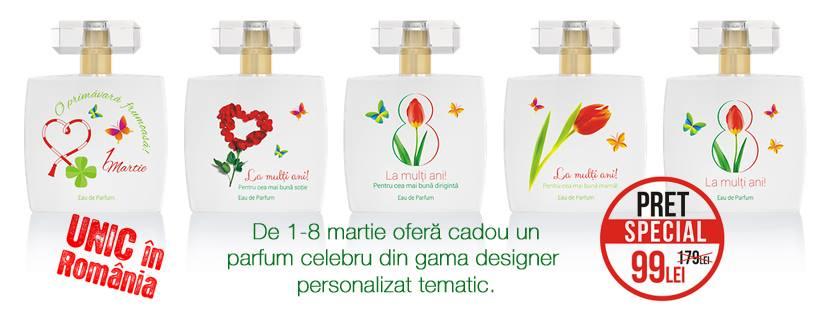 Famous Luxury Perfumes - Parfumuri cu mesaje personalizate