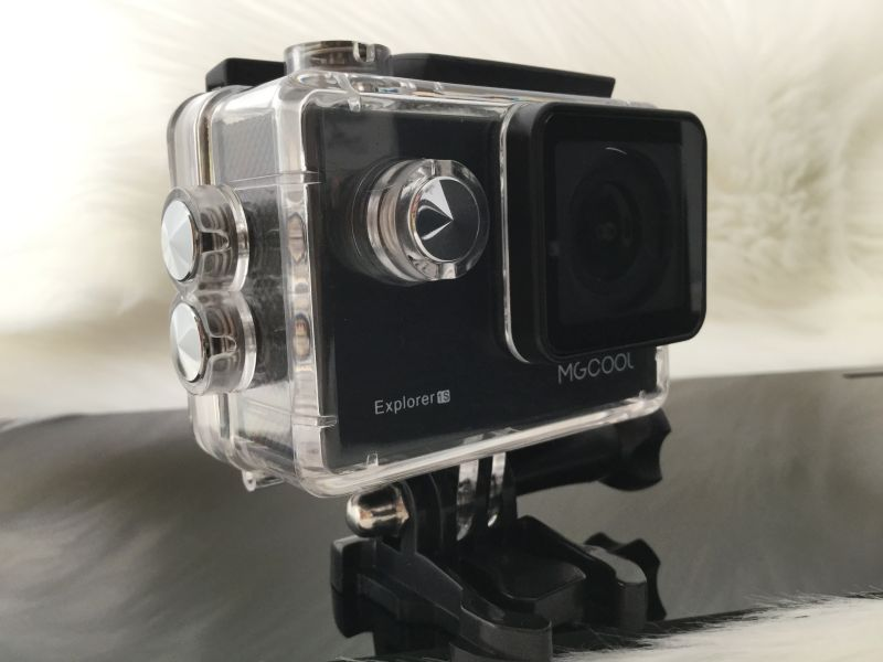 MGCOOL Explorer 1S 4K WiFi Action Camera Novatek NT96660 - review