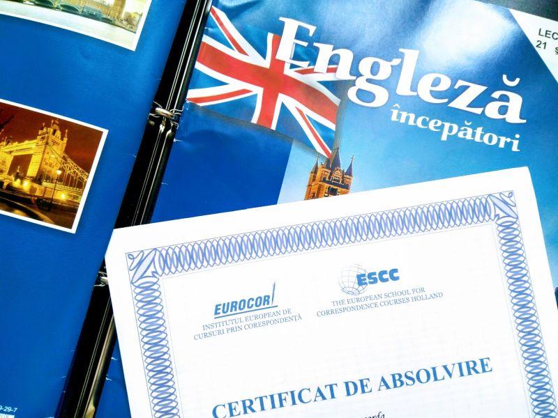 Certificat Cursuri Eurocor