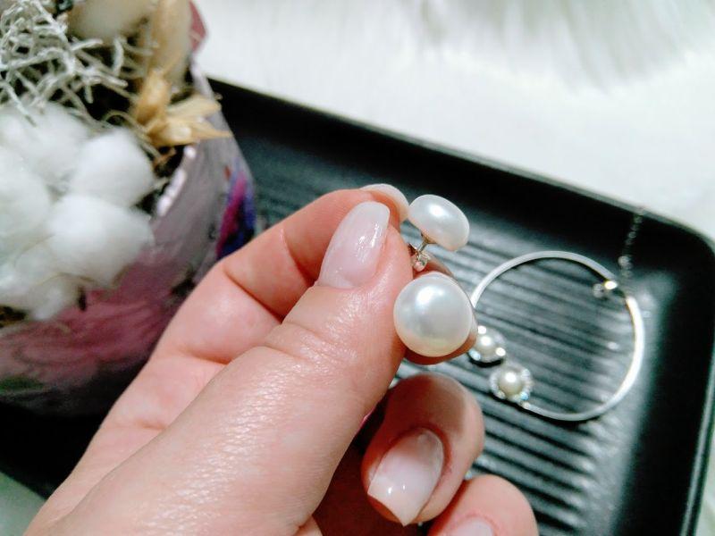 cercei argint cu perle janette.ro