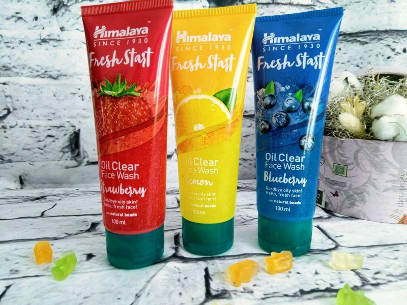 fresh start gel curatare Himalaya