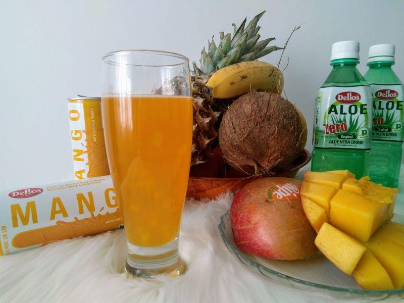 dellos aloe vera original cu mango
