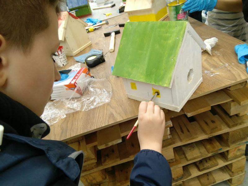 cum construiesti o casuta pasarele