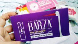 Barza - test de sarcina