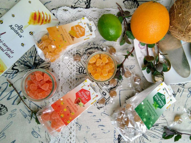Jeleuri cu fructe Apidava