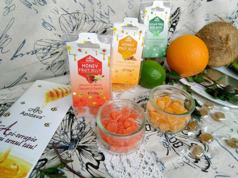 Jeleuri cu fructe Apidava - Dulciuri sănătoase