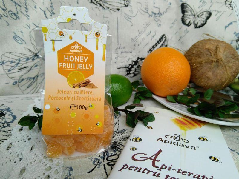jeleuri cu miere, portocale și scorțișoară de la Apidava