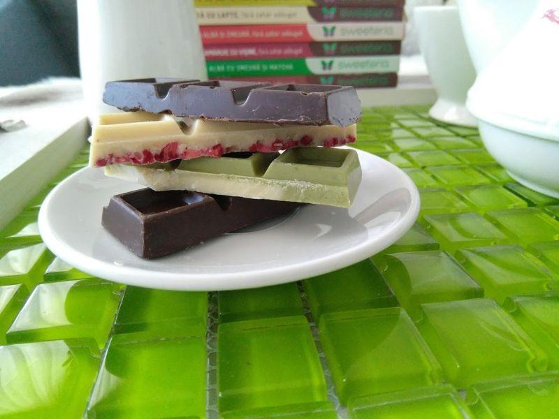 tablete ciocolata Sweetria dulciuri fără zahăr