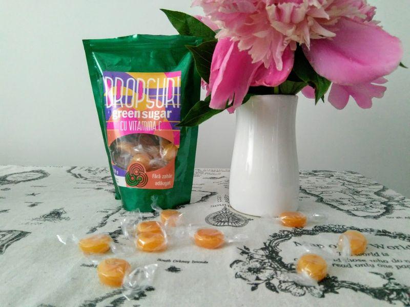Dropsuri cu Vitamina C și Green Sugar