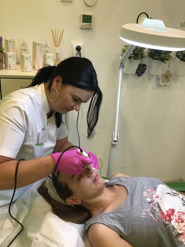 curățarea feței la No+Vello
