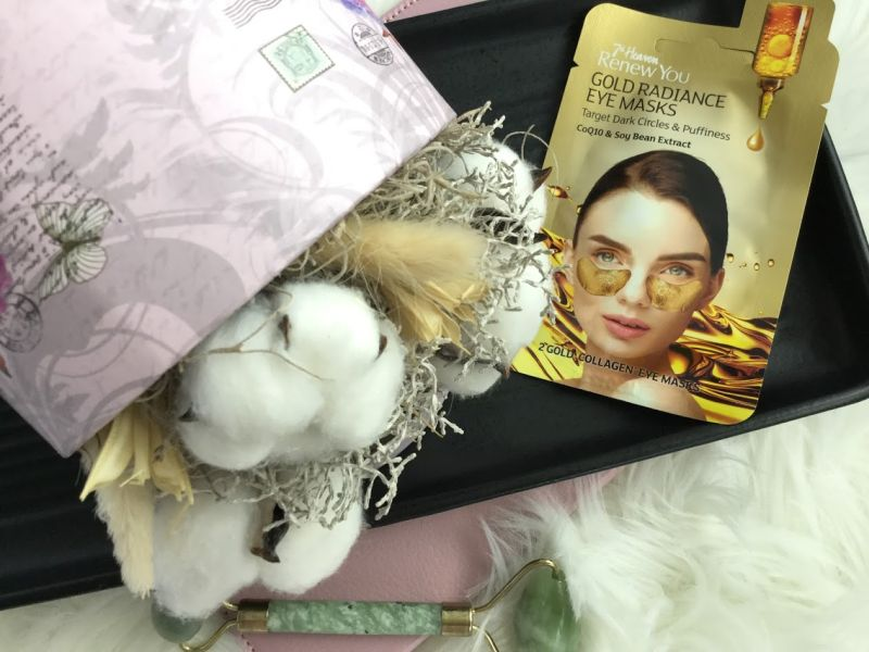Masca gold pentru ochi cu Q10 si extract din boabe de soia, pareri