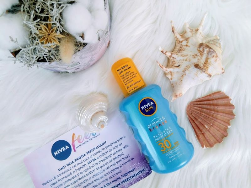 NIVEA Sun Protect & Bronze Sun Oil Spray SPF 30