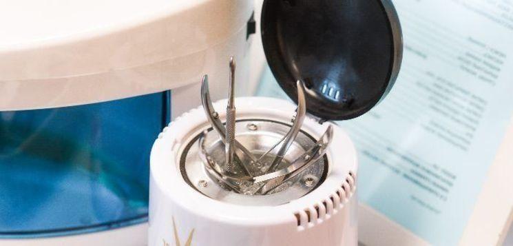 foloseste un sterilizator cu quartz