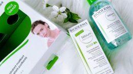 Bioderma Sebium Crema Matifianta si Bioderma Sebium Soluție Micelara pentru piele grasa