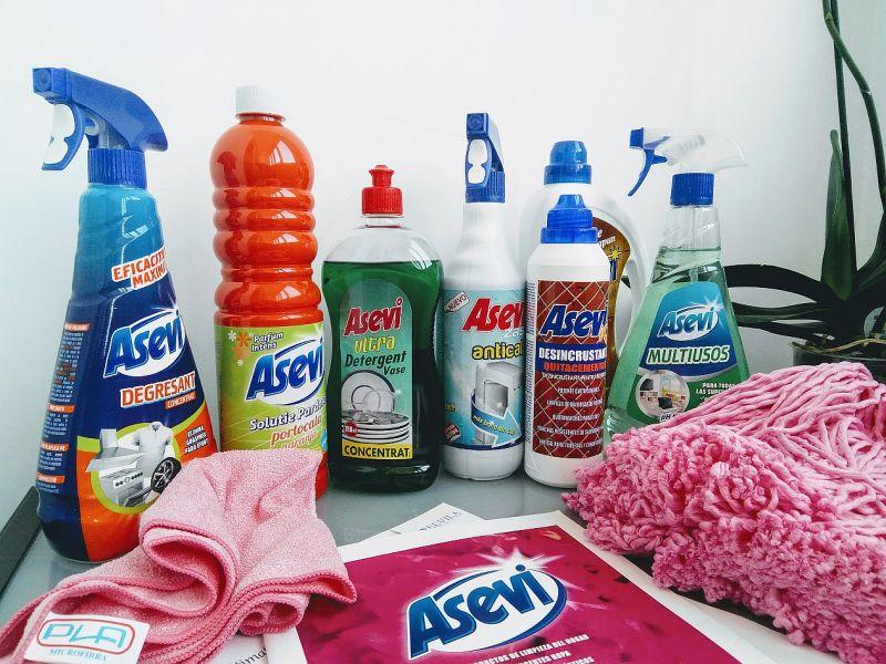 Asevi, produse profesionale de curatenie