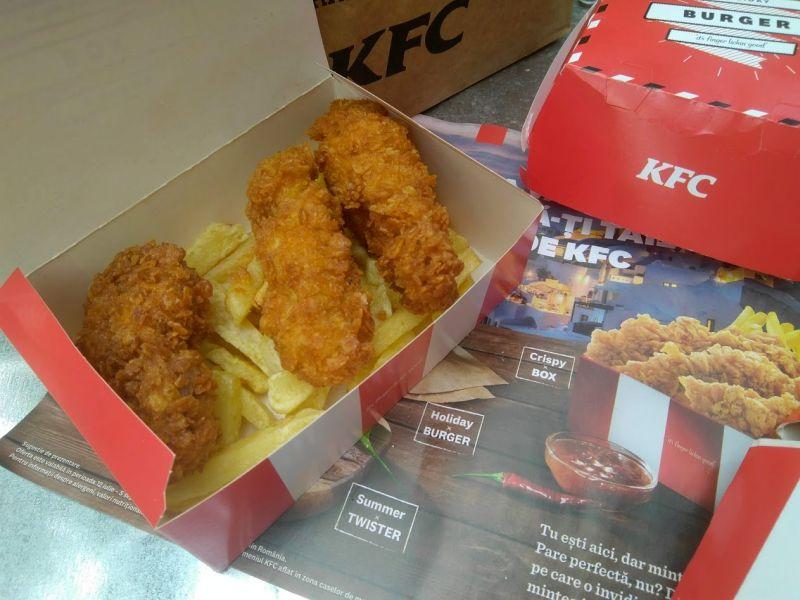 Crispy Box kfc