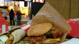Meniu de vara KFC