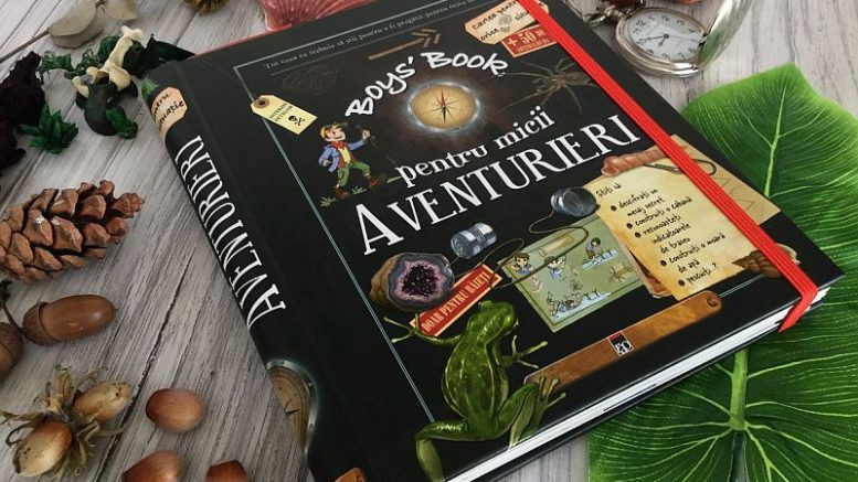 Boy's book pentru micii aventurieri de Michele Lecreux