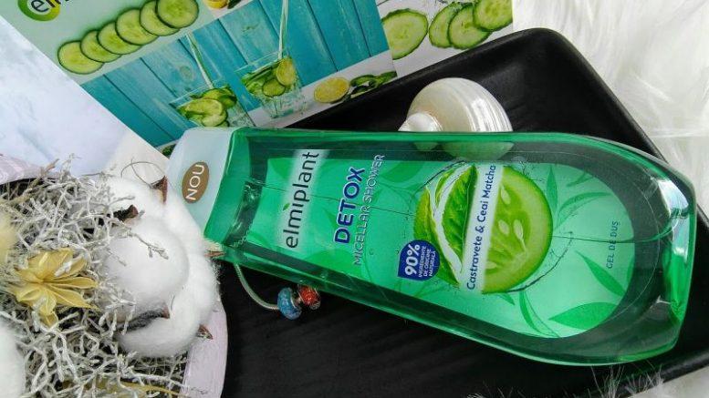 gel de duș micelar elmiplant DETOX, review