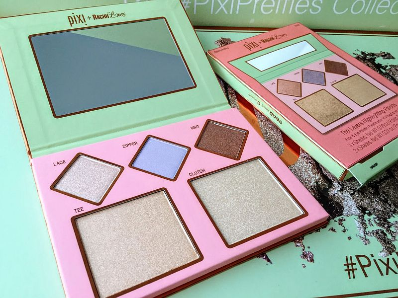 Rachh Loves The Layers Highlighting Face and Eye Palette