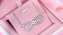 symbole de l'infini en bijoux