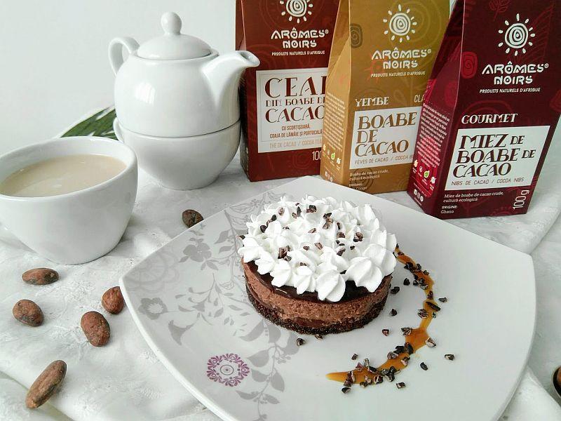 Aromes Noirs - boabe de cacao cruda