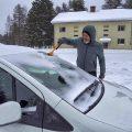 masina iarna