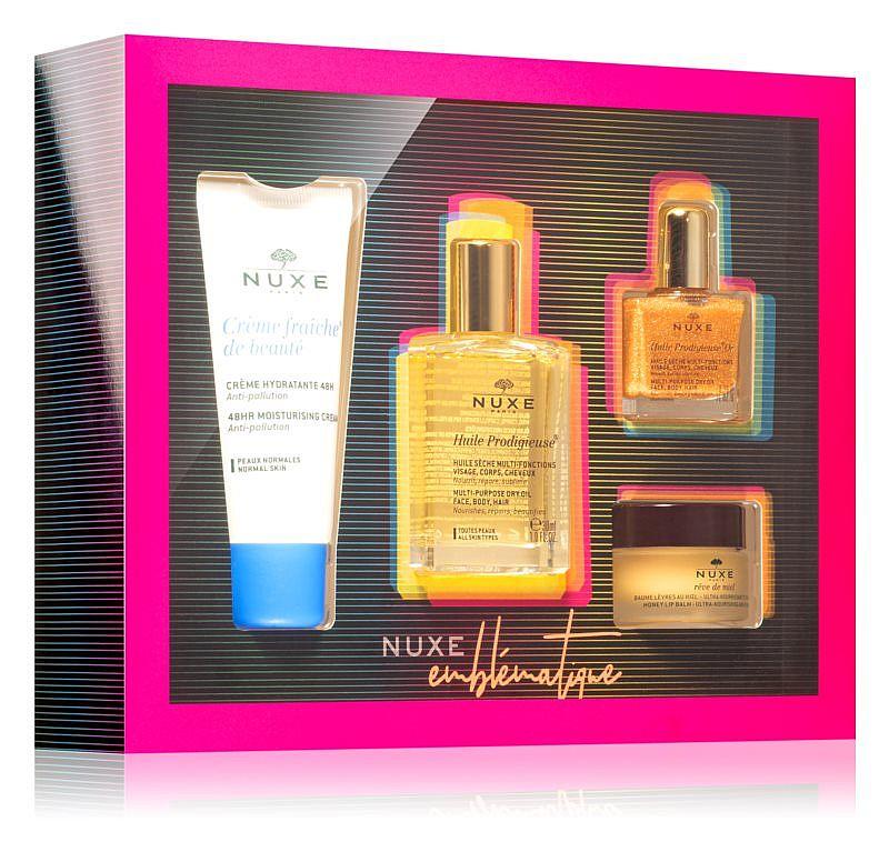 nuxe emblematique set cadou pentru femei