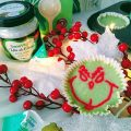 Mini tarte Grinch