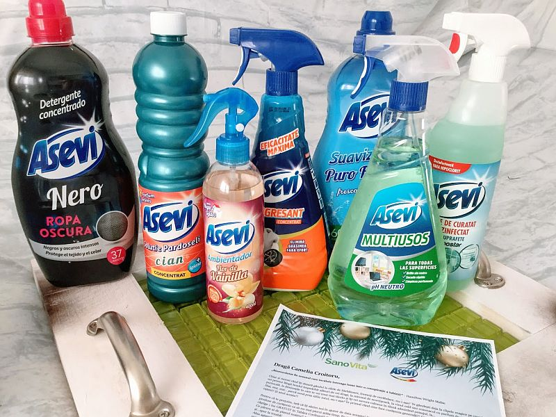 Produse de curatenie Asevi