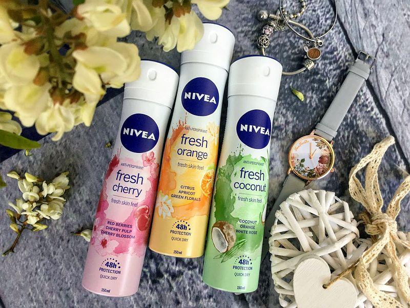 deodorante NIVEA Deo Spray Fresh