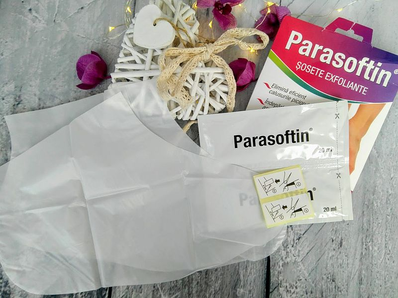 Parasoftin sosete exfoliante pareri