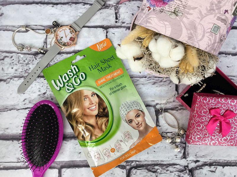Masca par Wash&Go Boost de stralucire, pentru un luciu intens