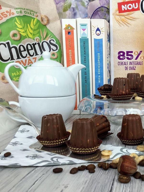 bomboane de ciocolata cu cheerios