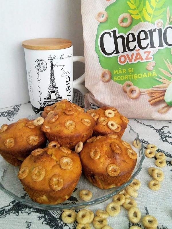Brioşe cu cereale Cheerios