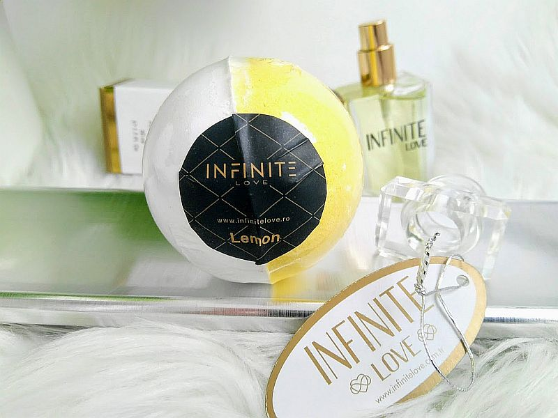 Infinite Love Bile de baie efervescente Lemon