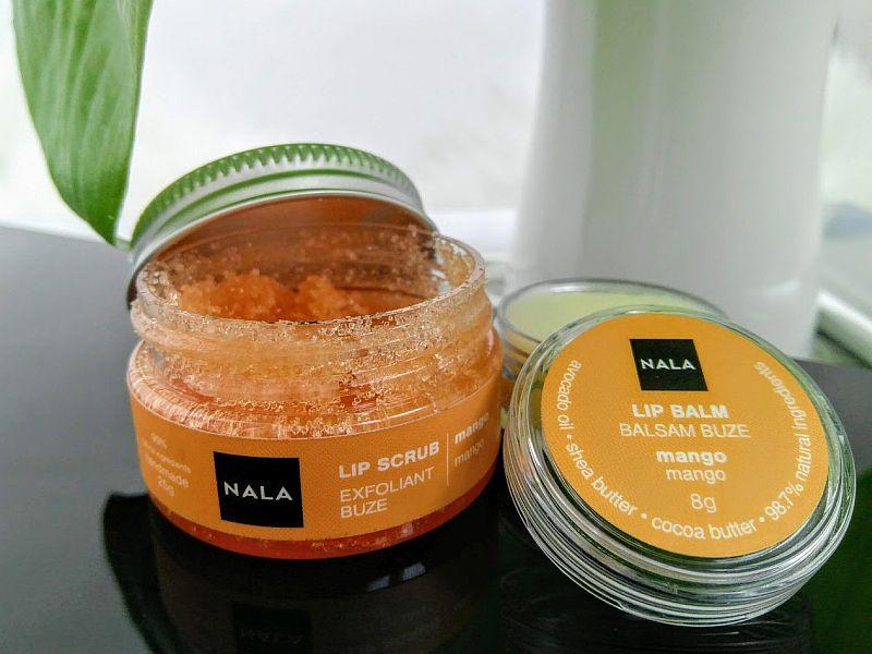 Exfoliant buze cu zahar si mango