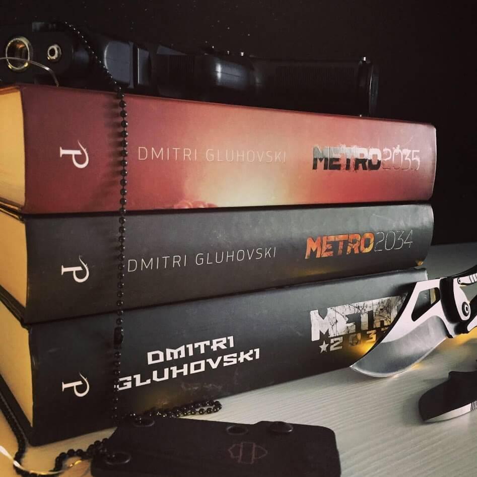 Metro serie Dmitri Gluhovski