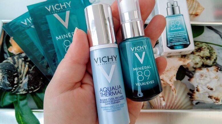 Vichy Minéral 89 booster hialuronic fortifiant de umplere dermică pentru zona ochilor