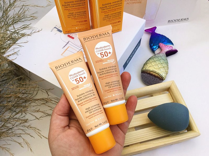 Photoderm Cover Touch SPF 50+ bioderma