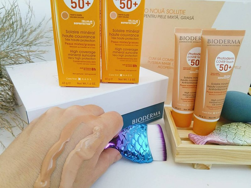 swach Photoderm Cover Touch SPF 50+ bioderma