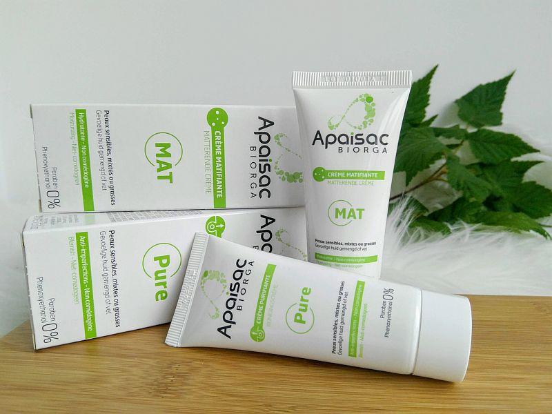 Gama Apaisac Biorga pentru pielea grasă sau mixtă