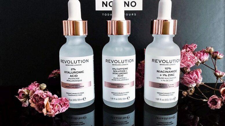 Revolution Skincare - seruri de faţă vegan