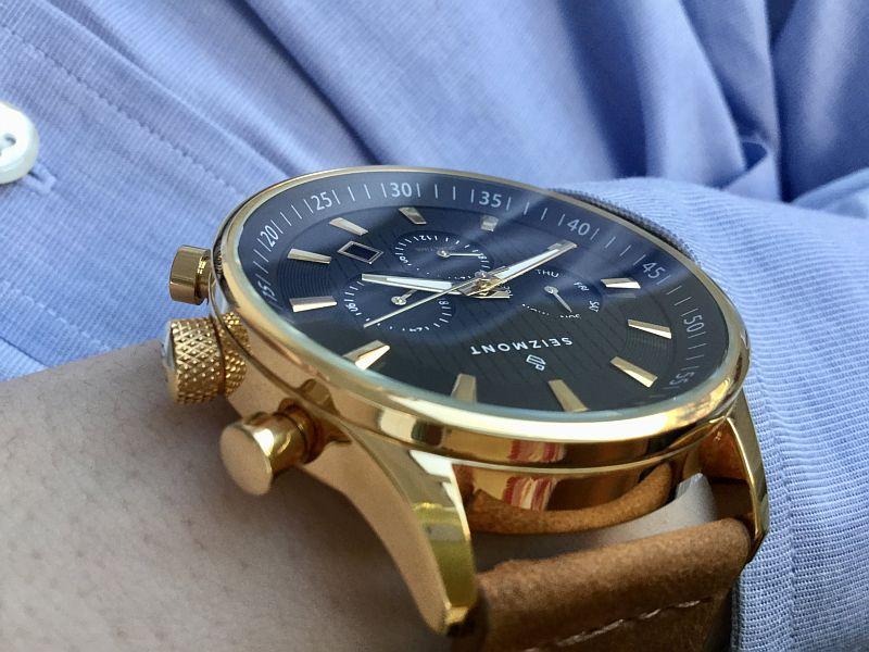 Seizmont Theo Troika Chronograph Watch