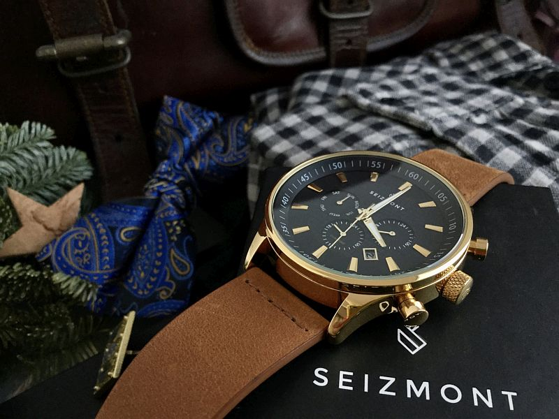 Theo Troika Chronograph Watch